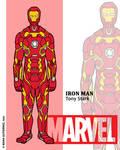 Marvel Heroes - Iron Man by NowitzkiTramonto