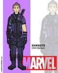 Marvel Heroes - Hawkeye by NowitzkiTramonto