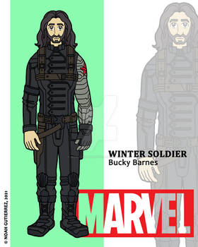 Marvel Heroes - Winter Soldier