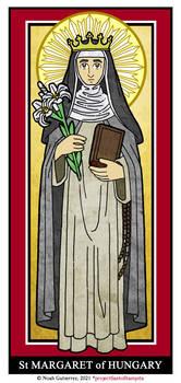St Margaret of Hungary