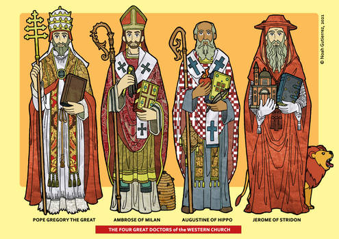 Four Great Doctors of the Western Church