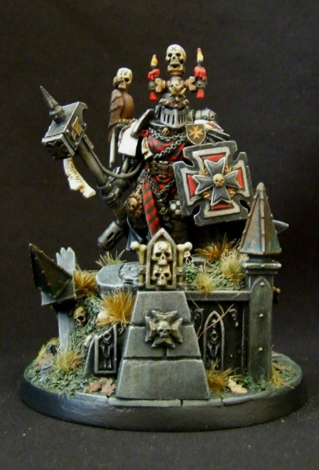 Black Templars - Marshal Mercadius by Carcharadon