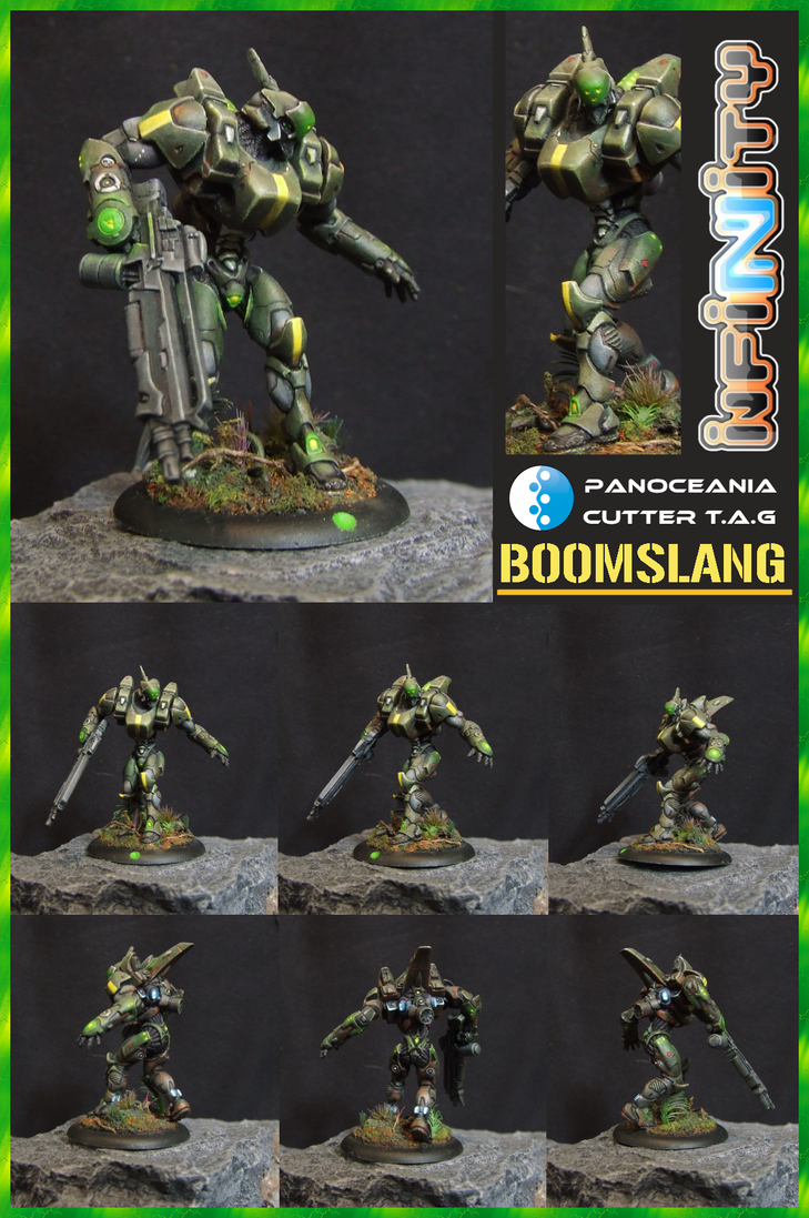 Boomslang - Infinity Cutter T.A.G. Battlesuit by Carcharadon