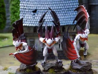 Vargheist Vampires by Carcharadon