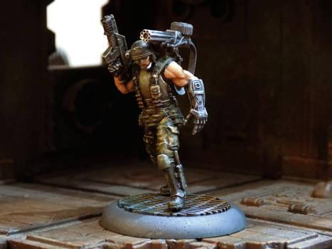 Bionic 'Dutch' Shaefer