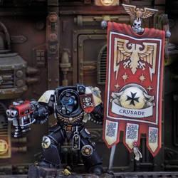 Black Templar Ancient in Terminator Armour