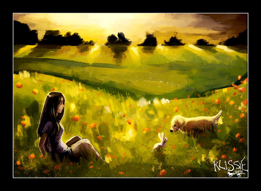 Poppy Fields by Klissie