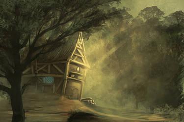 Haensel und Gretel concept by DerMonkey