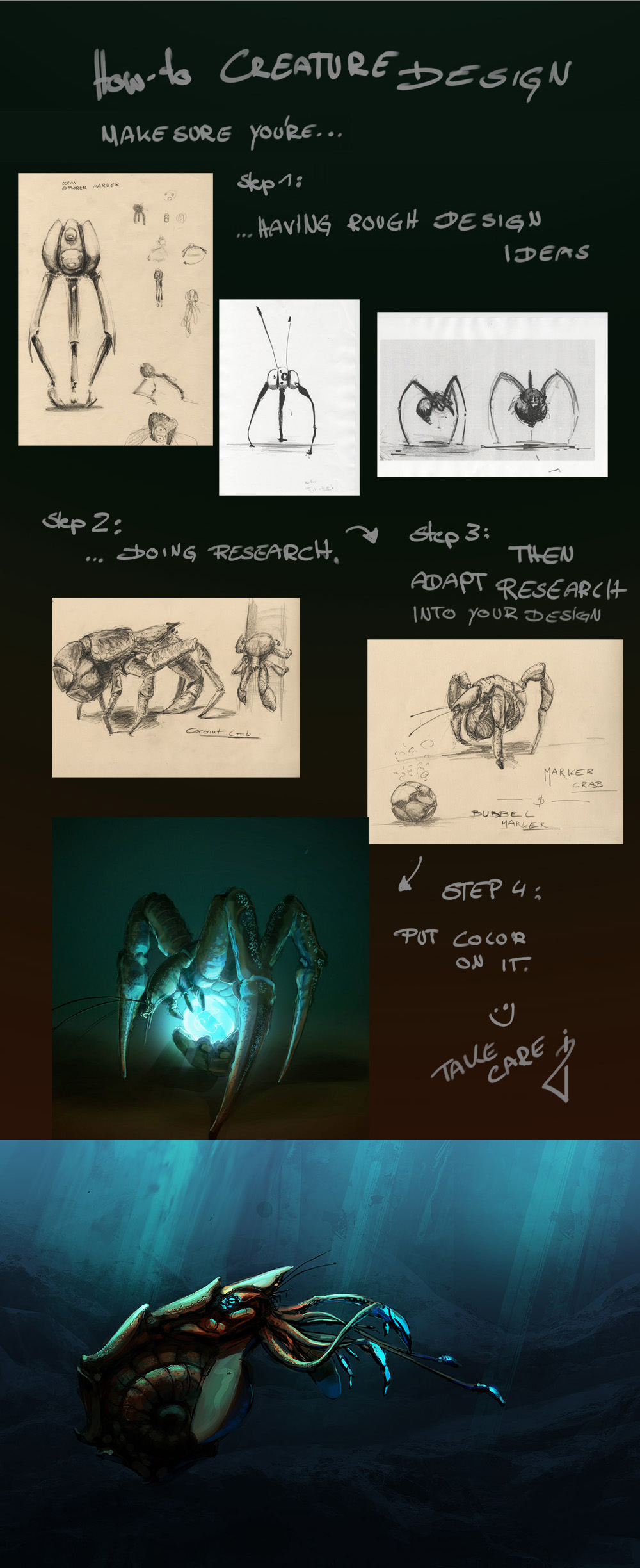 mini how to: creatures by DerMonkey