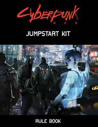 Cyberpunk Red Jumpstart Kit Rule Book Cover