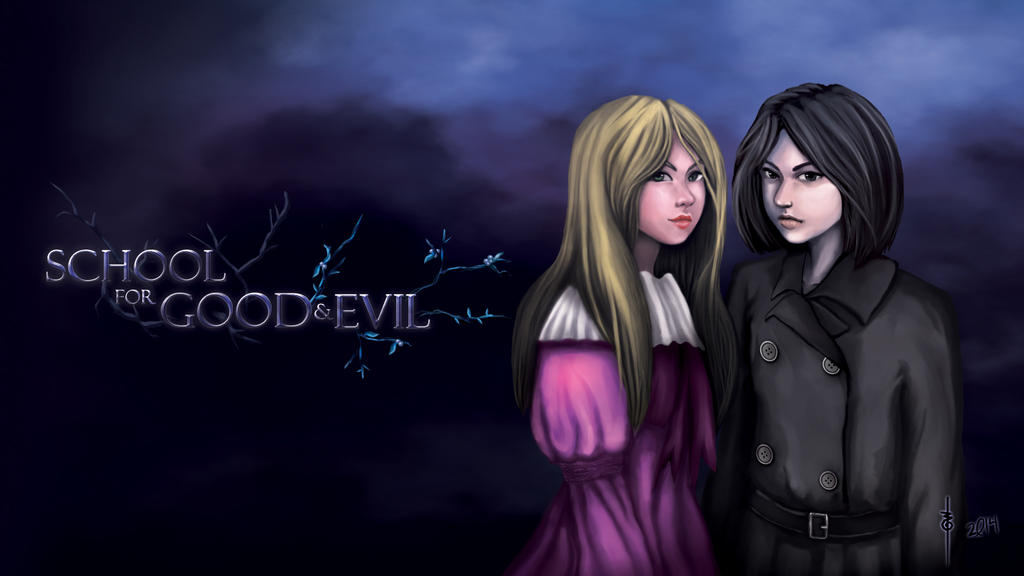 School for Good and Evil - Sophie and Agatha by rieline