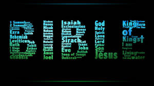 Bible typography