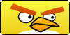 Angry Birds Yellow Button