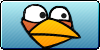 Angry Birds Blue Button