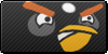 Angry Birds Black button