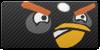 Angry Birds Black button by vyndo