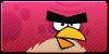 Angry Birds Big Bro button by vyndo