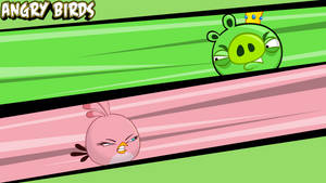 Angry Birds Pink wallpaper by vyndo
