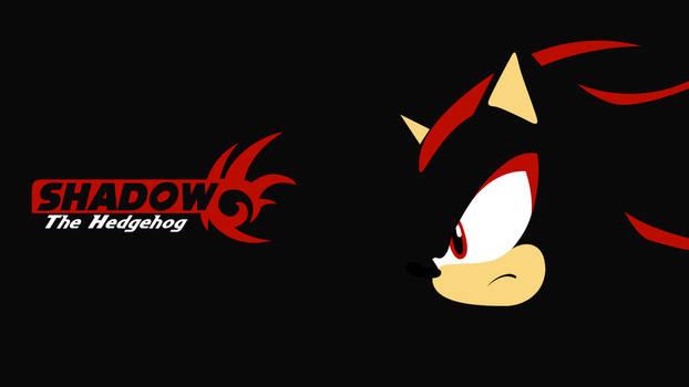 Minimalistic Shadow the Hedgehog