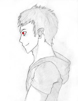 Frederic Sketch (Original Character)