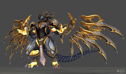 The Celestial Dragon by Jorn-K-Nightmane