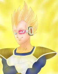 Vegeta- What did you expect! by hinataconsuegra