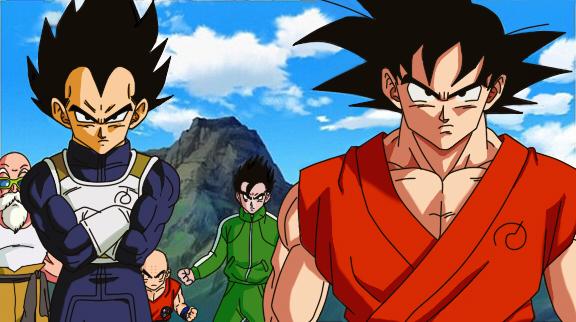 DB Super redraw Goku Gohan Vegeta Roshi Krillin by hinataconsuegra