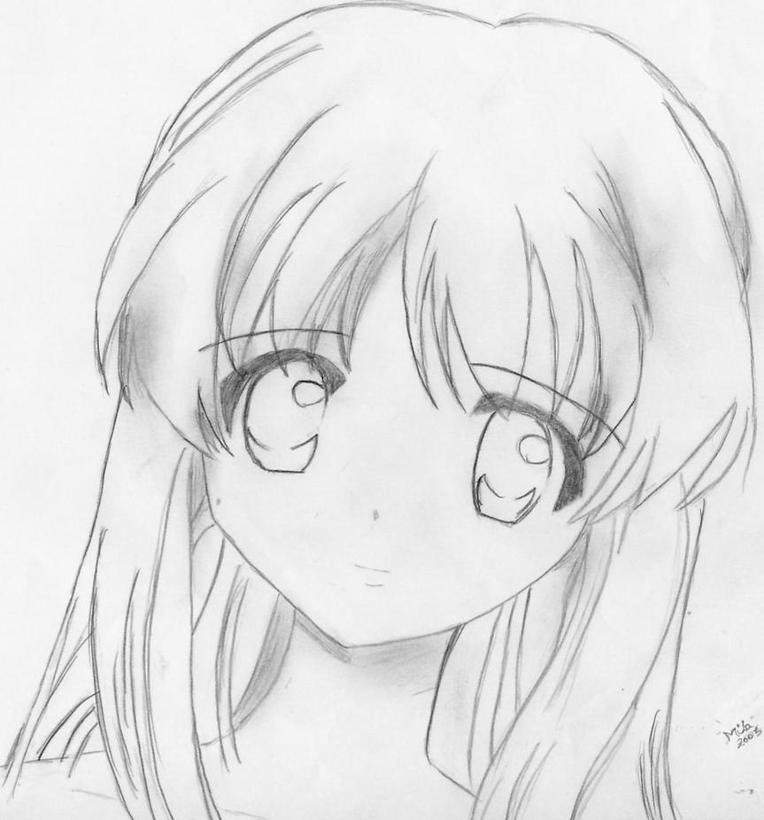 Uno De Los Primeros Dibujos By Mila Nyo