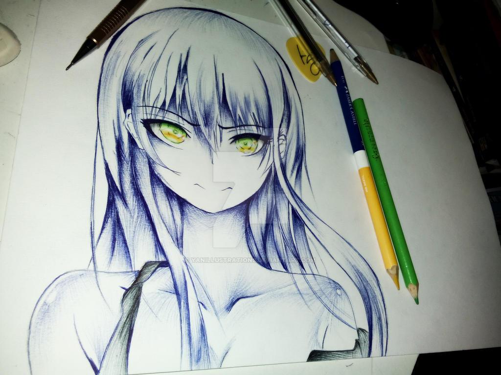 anime pen by yanillustrations on deviantart