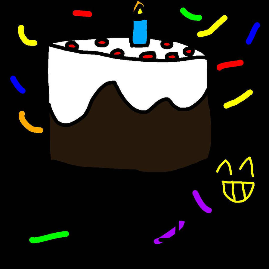 A Happy Birthday Cake For Fanvideogames By Izzy The Animatior On