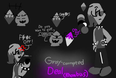 gray-corrupted deal(rhombus) by izzy-the-animatior