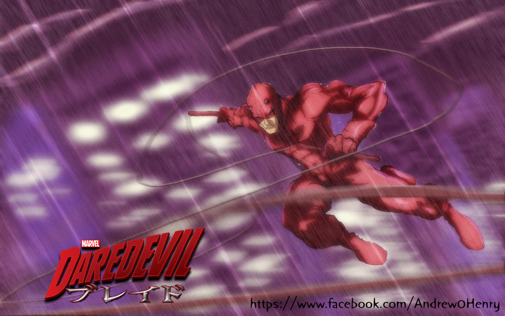 Daredevil anime by andrew-henry
