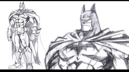 Batman Warmup by andrew-henry