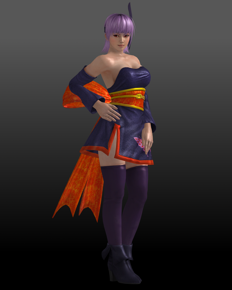 Ayane (Costume 3) by Sticklove