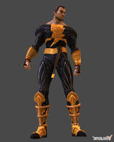 Black Adam (Default) by Sticklove