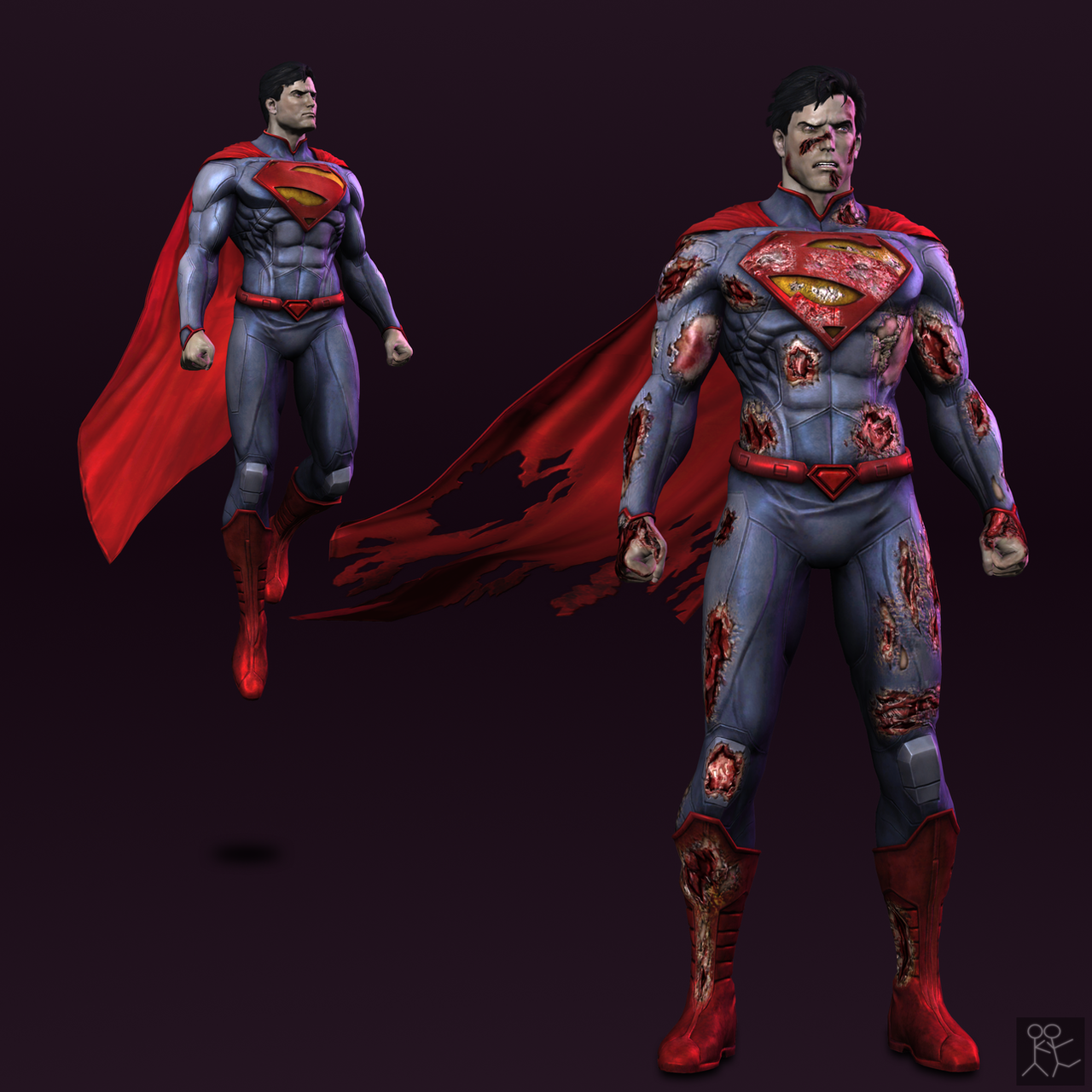 Injustice: Gods Among Us - Superman (new 52) by Sticklove ...