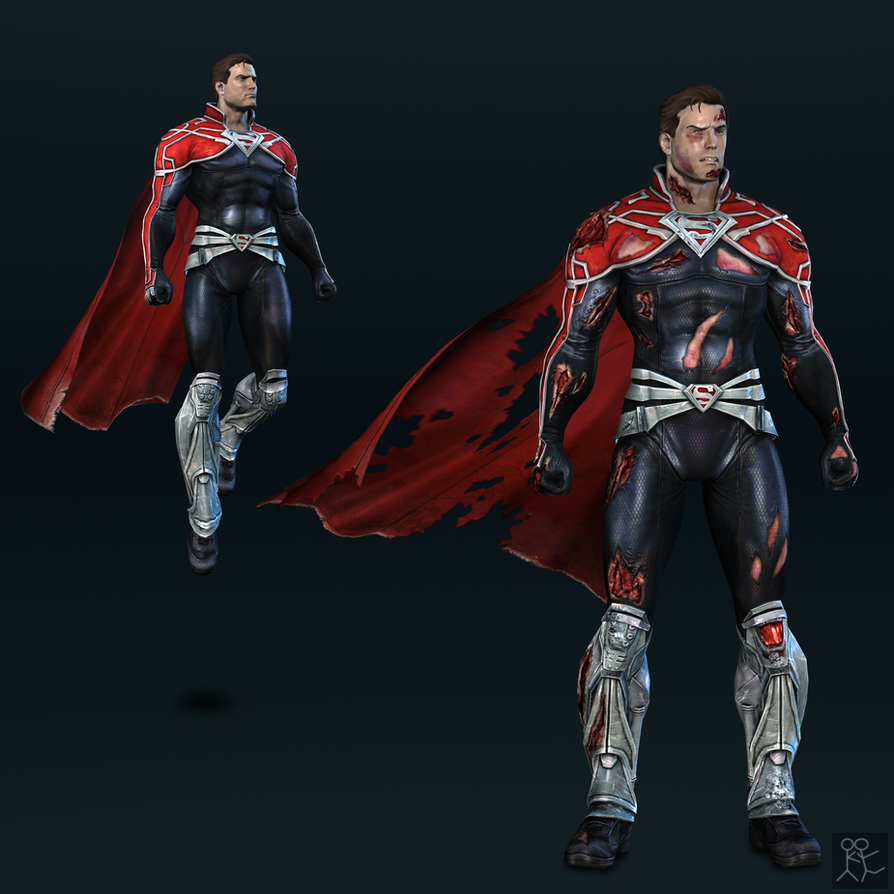 Injustice Gods Among Us - Superman (godfall) by Sticklove ...  sc 1 st  DeviantArt : injustice superman costumes  - Germanpascual.Com