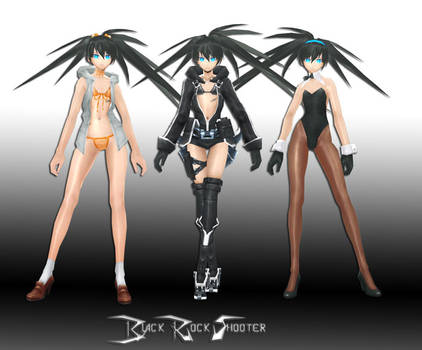 Black Rock Shooter by Sticklove
