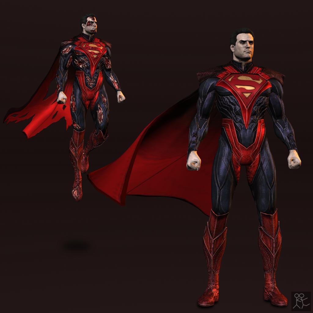 Injustice: Gods Among Us - Superman (regime) by Sticklove ...