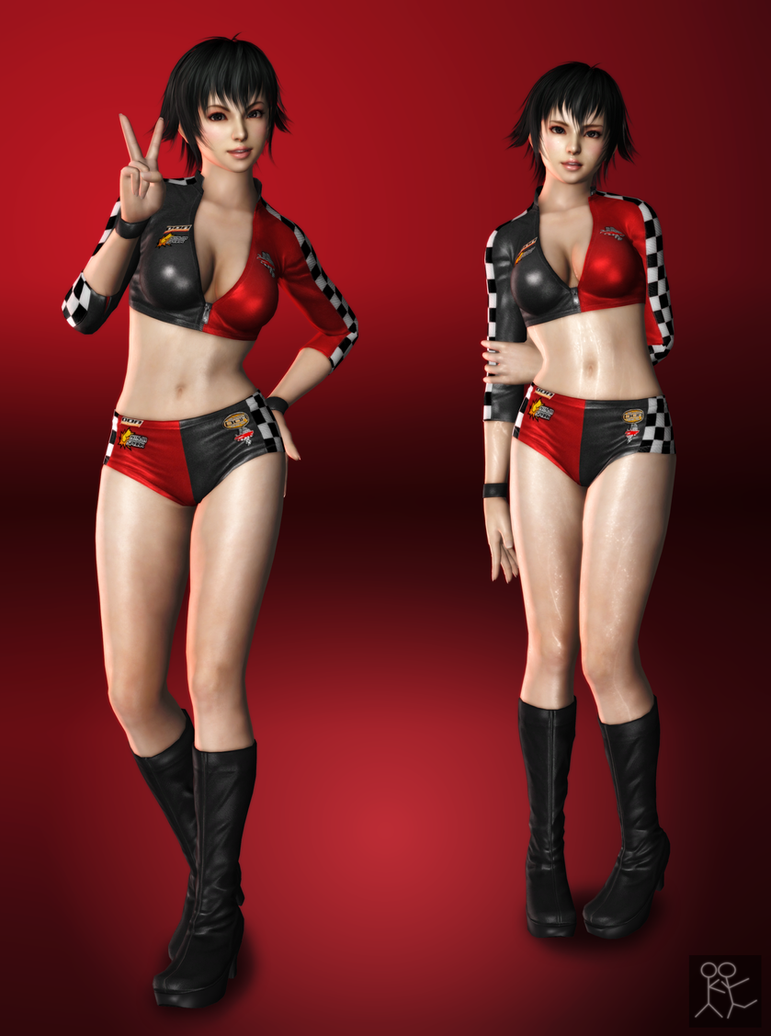 DOA5 Ultimate - Pai Chan (racer) by Sticklove