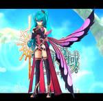 FFO Butterfly Girl