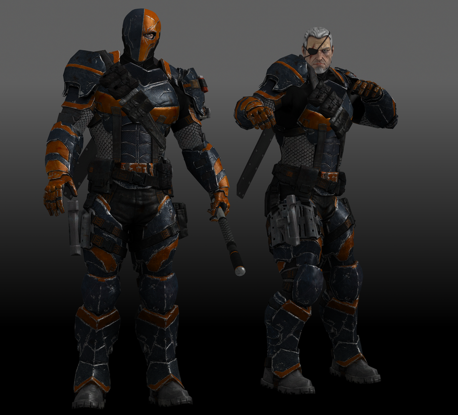 deathstroke by sticklove on deviantart
