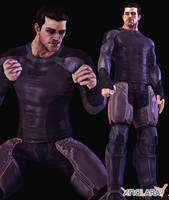 BAO Bruce Wayne WayneTech Bodysuit by Sticklove