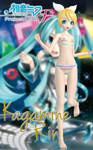 Kagamine Rin (Striped Bikini)