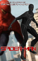 Spider-Man (Black Suit) by Sticklove