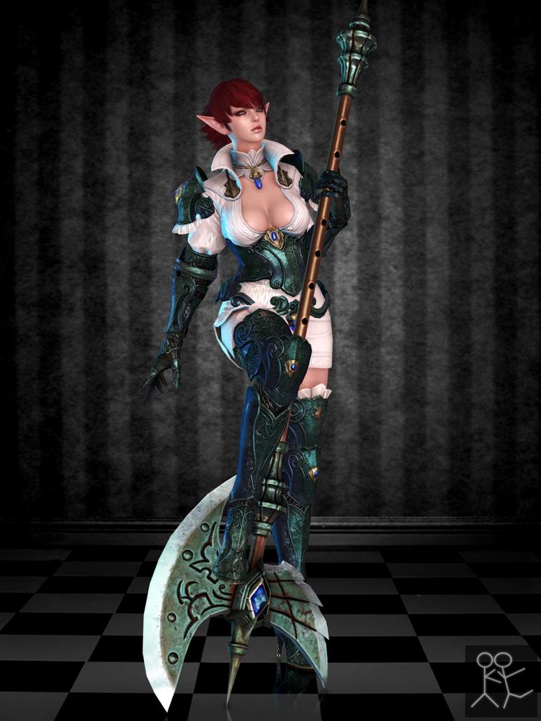 Bless Online - Nenya (custom female Elf) by Sticklove