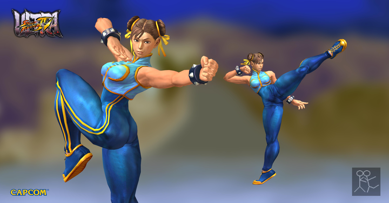 Ultra Street Fighter 4 Chun Li Alpha Costume 4 By Sticklove On
