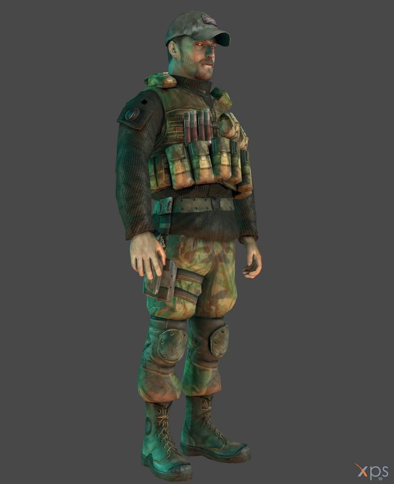 Cod 4 Modern Warfare Gaz By Sticklove On Deviantart