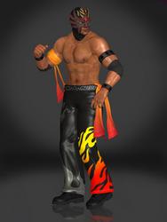 El Blaze (Costume A) by Sticklove