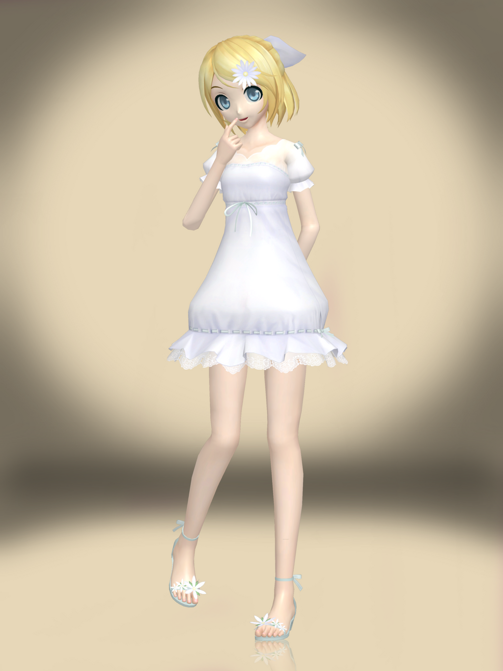 Rin and Len from Vocaloid Dress Up Game